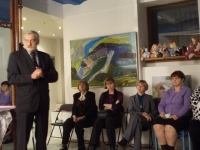"""Club meeting """"Autumn Mosaic"""" held on November 8th, 2012 at the Camea Art gallery (read more)"""
